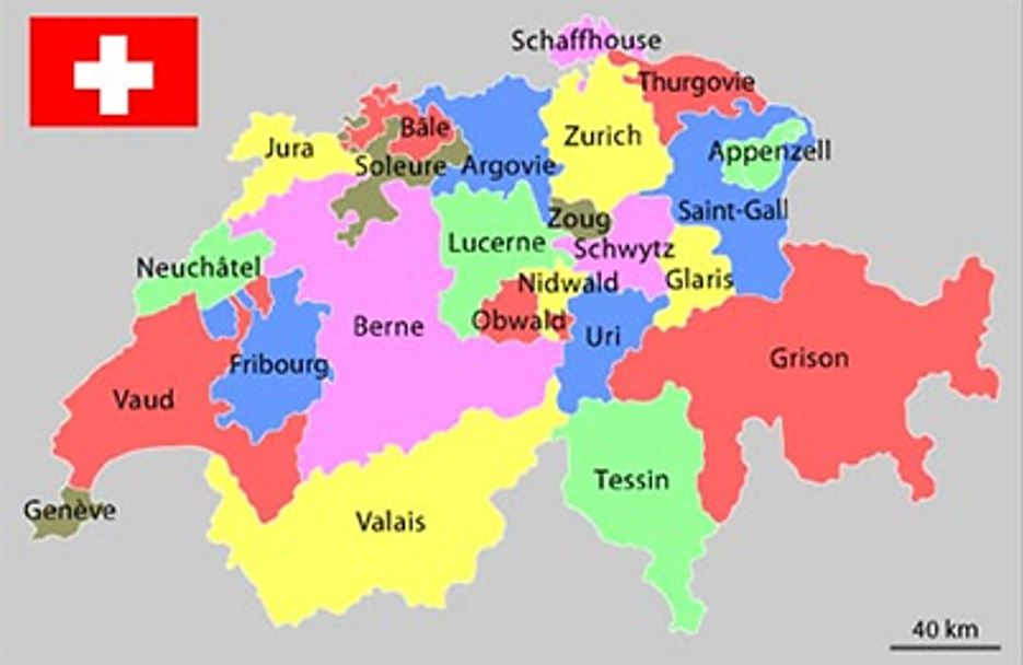 Cantons suisse